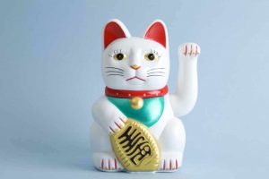 Picture of the Maneki Neko Cat