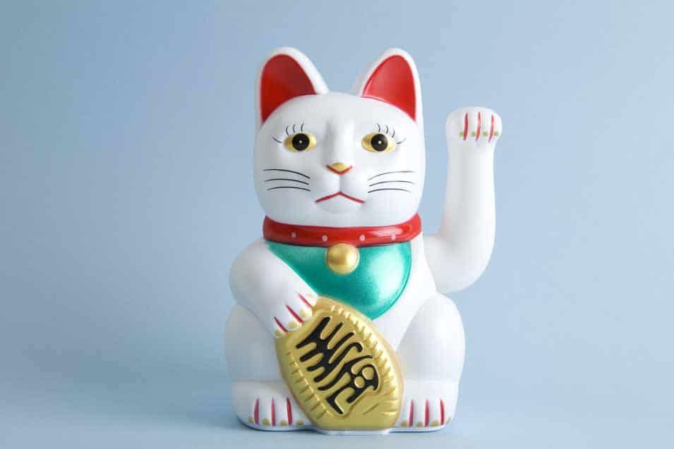 Picture of the Maneki Neko Cat