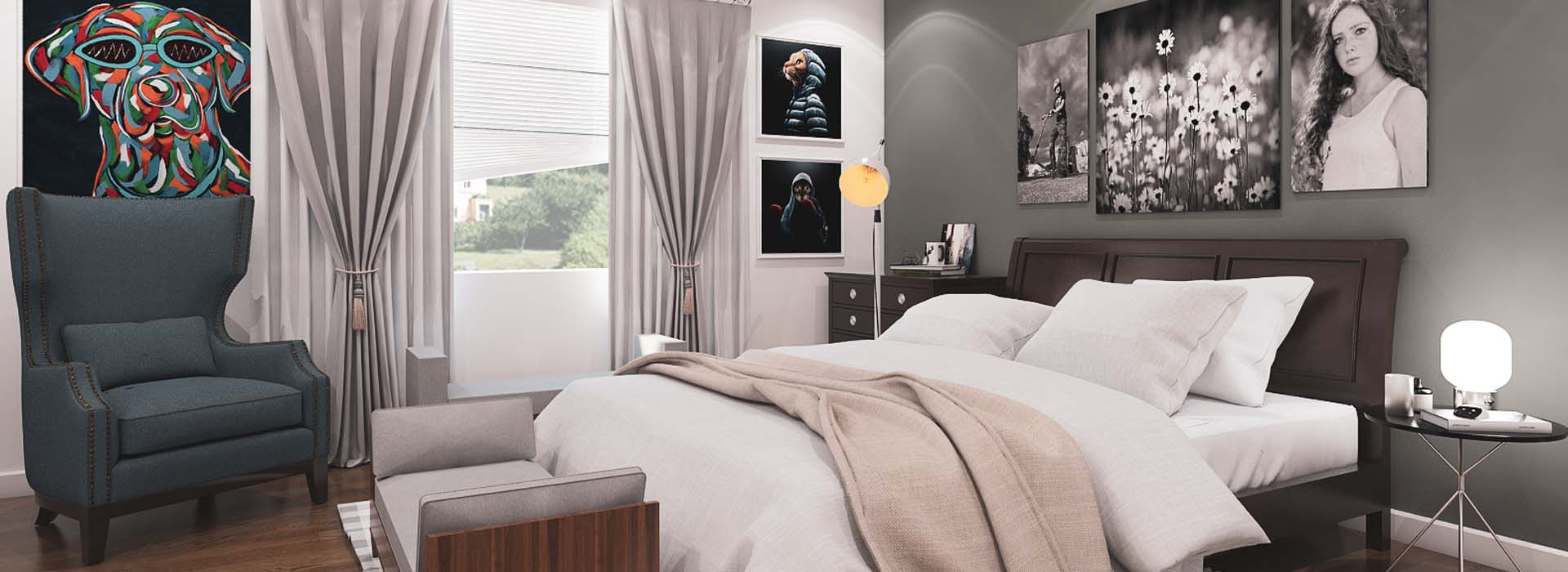 Pet Friendly Bedroom