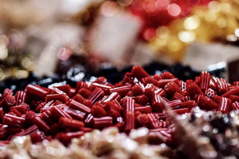 Picture of red and black licorice